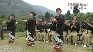 サムネイル画像:麦屋節(手踊り)