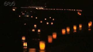 サムネイル画像:富山市 いたち川の精霊流し