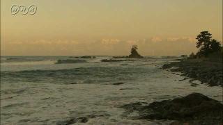 サムネイル画像:高岡市 雨晴海岸から望む夕焼けの立山連峰