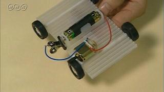 電池で動く自動車の作り方