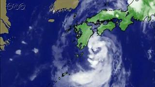 台風の進む方向と風の向き