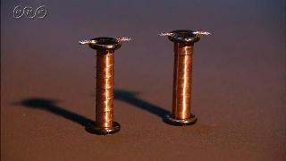 電磁石の強さとコイルの巻き数