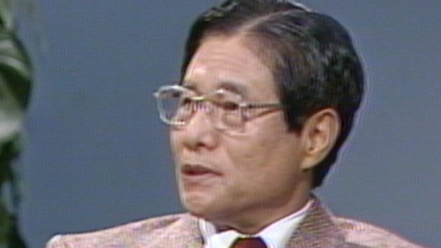 糸川英夫 | NHK人物録 | NHKアーカイブス